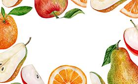 Коллекция фруктов